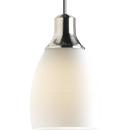 12V low voltage mini-pendant with white glass *** Discontinued ***