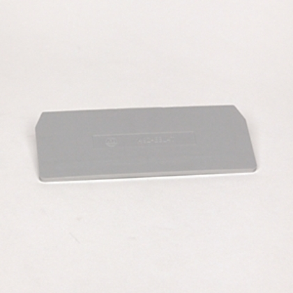Terminal Block, End Barriers, Spring Clamp Type, Gray