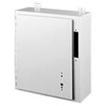 "Disconnect Enclosure, Hinge Cover, 36"" x 32"" x 10"", Steel/Gray"