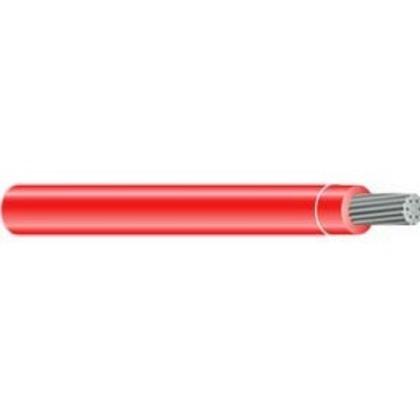 350 MCM THHN Stranded Aluminum, Red, 500'