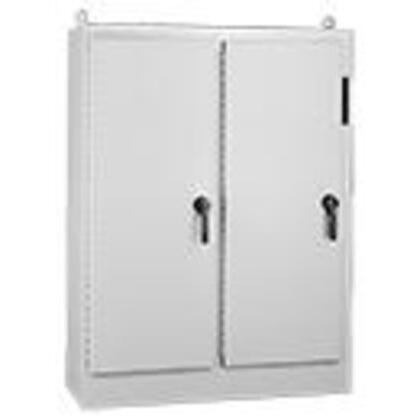 "Free-Standing, Disconnect Enclosure, 4-Doors Lp, 90.12"" x 158"" x 24.12"""