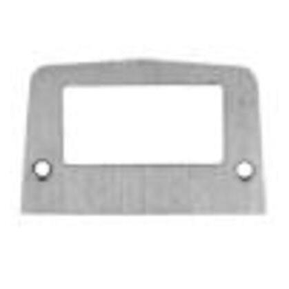Service Box Plate, Metallic, Type: GFCI