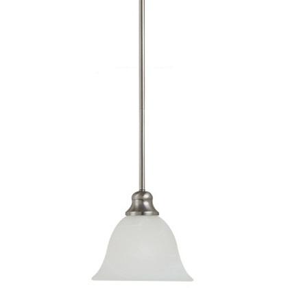 Mini-Pendant, 1-Light, 13W, Brushed Nickel *** Discontinued ***