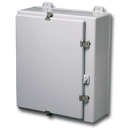 TYPE 4X FIBERGLASS WALL-MOUNT SGL DOOR ENC, 30X24X10