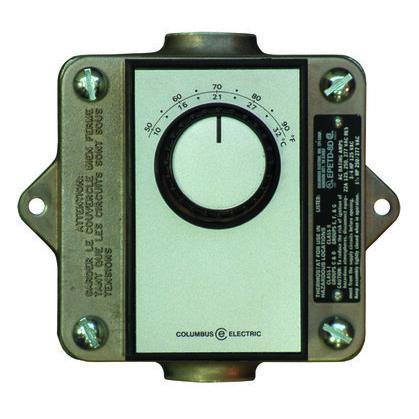 Dpst Haz Loc Remote Thermostat