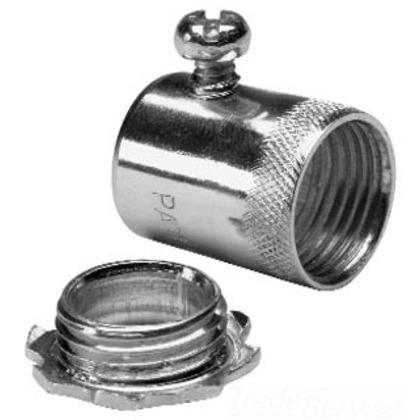 "EMT Set Screw Connector, Size: 3/4"", Material: Steel/Zinc *** Discontinued ***"