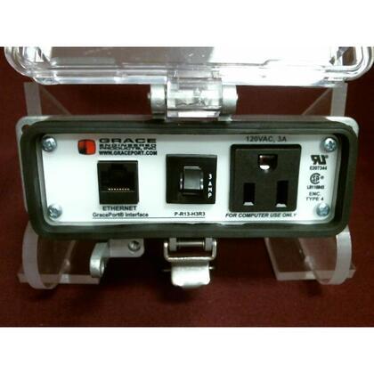 Programming Port, 10', Simplex, 3A Circuit Breaker, Nema 12/4