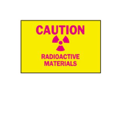 Sign,B401,10x7,Ma/Yw,CAUTION RADIO,1EA