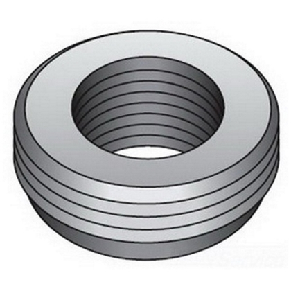Reducing Bushing, Threaded, 2 x 3/4 Inch, Malleable Iron