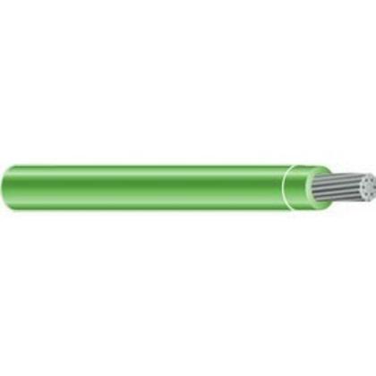 250 MCM THHN Stranded Aluminum, Green, 500'
