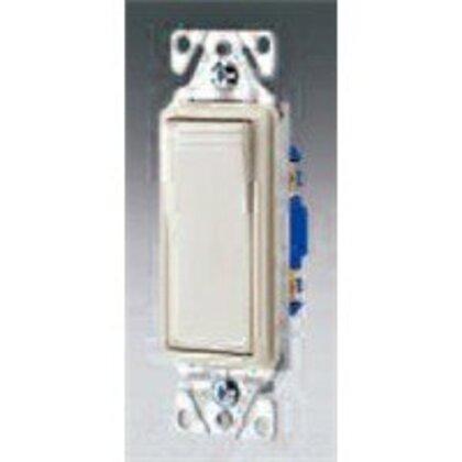 Switch Decorator SP 15A 120/277V BK