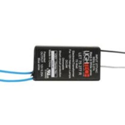 Transformer, Lighting, Electronic, 75W, 12VDC, 277VAC, 6.25A