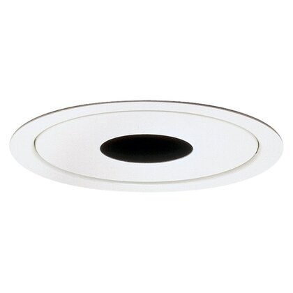 "Pinhole Trim, 5"", White, Low Voltage *** Discontinued ***"