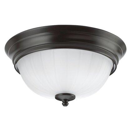 Ceiling Light, 2 Light, 60W, Heirloom Bronze
