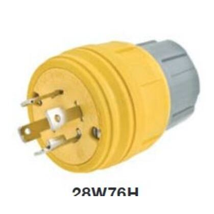 WTIGHT PLUG NEMA L15-30P 30A/ 250V 3PH *** Discontinued ***