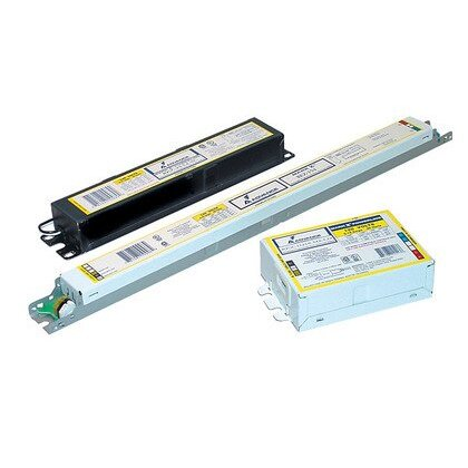 Electronic Dimming Ballast, Fluorescent, 2-Lamp, 54W, 120-277V