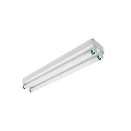 Heavy Duty Striplight, 8', 4-Lamp, T8, 32W, 120-277V
