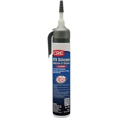 RTV Silicone Sealant, 7.25 Fluid Ounce Tube, Clear
