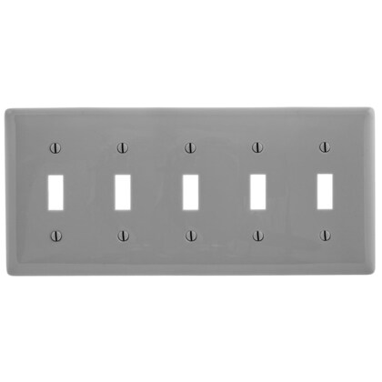 WALLPLATE, 5-G, 5) TOGG, GY