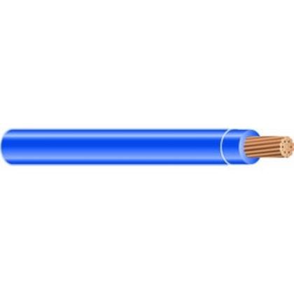 1 AWG THHN Stranded Copper, Blue, 1000'