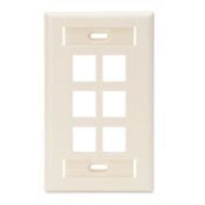 Wallplate, Light Almond