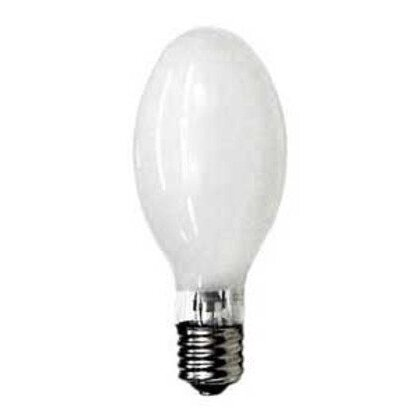 Mercury Vapor Lamp, ED28, 250W, Coated