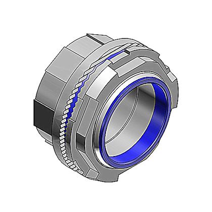"Conduit Hub, Threaded, Size: 5"", Insulated, Material: Aluminum"