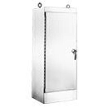"Free-Standing Enclosure, Single/Dual Access, NEMA 4X, 72 x 48 x 24"""