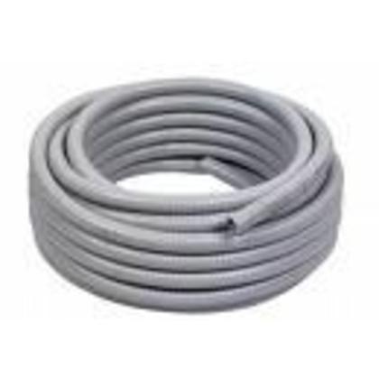 "Liquidtight Flexible Steel Conduit, Type EF, 5"", Gray, 25'"