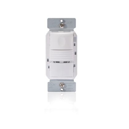 Pir Wall Switch Occupancy Sensor, 24v, White