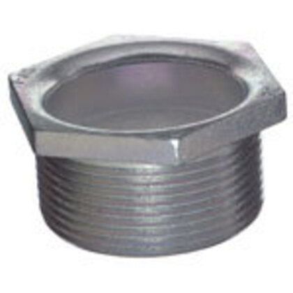 "Chase Nipple, 3-1/2"", Malleable Iron"