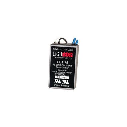 Transformer, Lighting, Electronic, 75W, 12VDC, 120VAC, 6.35A
