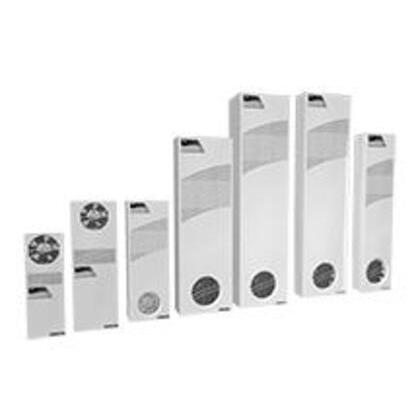 Heat Exchanger, Type: Sealed Enclosure, 115VAC, Steel/Light Gray