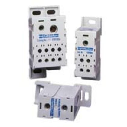Power Distribution Block, Finger Safe, 310A, 1 Line, 8 Load, Copper