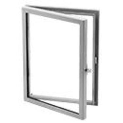 "Window Kit, Hinged, NEMA 12, 10"" x 10"", Steel/Acrylic Window"