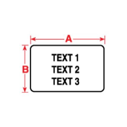 Label,BMP71/TLS,B435,1.5x.75,Slv,250/RL