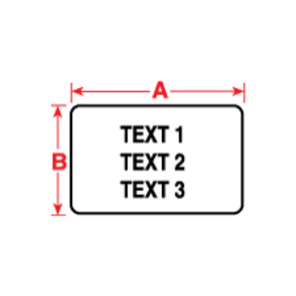 Lbl,BMP71/TLS,B486,1x.375,Lgt Gry,500/RL