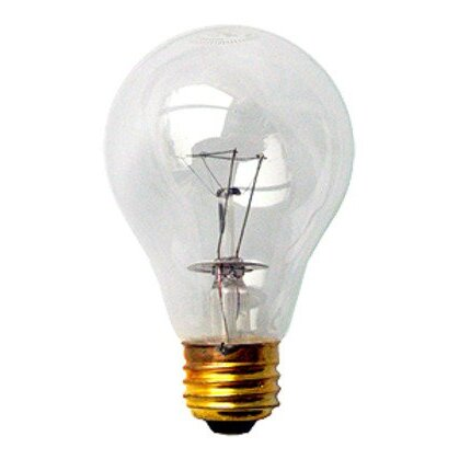 Incandescent Bulb, A21, 69W, 130V, Clear