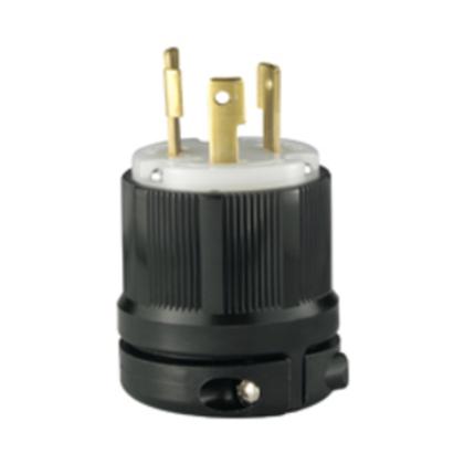 CONN 30A 125V 2P3W H/L