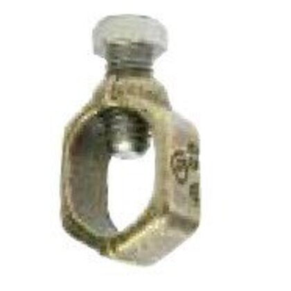 """Ground Rod Clamp, 5/8 to 1/2"""", 2 to 10 AWG, Copper"""