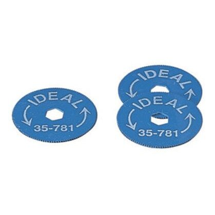 Replacement Blades for Rotary BX Cable Cutter, 5 Each Per Package