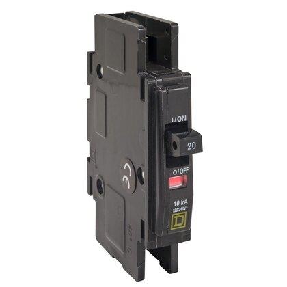 Breaker, Lug In/Ring Terminal Out, 1P, 30A, 120VAC, Type QO, 10kAIC