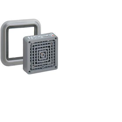 Vibrating Horn, 120VAC, 0.18A, 100dB @ 10', NEMA 4X, Zinc Die Cast