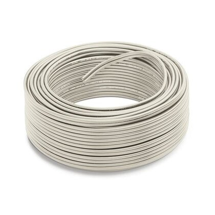 Linear Cable, 100', White *** Discontinued ***