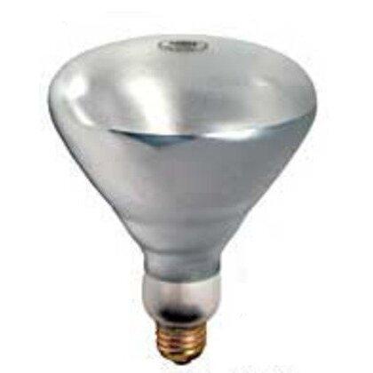 Incandescent Heat Lamp, Shatter-Resistant, BR40, 250W, 130V
