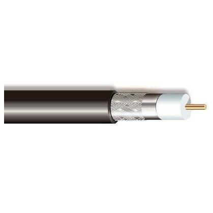 DUAL-Shielded Broadband Coax Cable, 18 AWG, RG-6/U, CL2/CATV, General Purpose