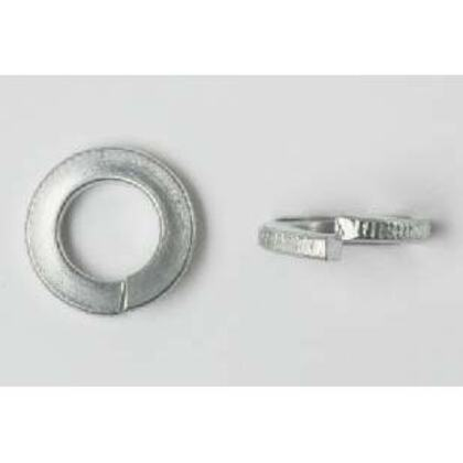 """Split Lock Washer, 3/8"""", Zinc Plated Steel, 100/PK"""