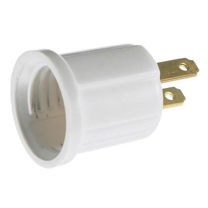 ADAPT, 5-15R TO LAMP, 15A 125V, MEDIUM