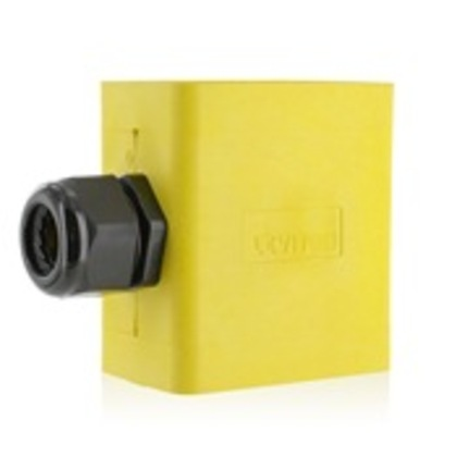 1G XTRA DEEP PEND STYLE YELLOW PORTABLE BOXES