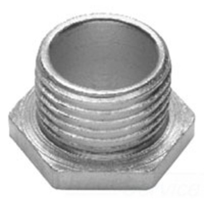 """Chase Nipple, 3-1/2"""", Non-Insulated, Thread, Malleable Iron"""